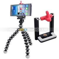 2014 New Mobile Phone Holder Mini Tripod Phone Bracket Mounting Holder Accessories