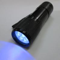 Uv flashlight 365nm stamps amber neon fiber black lights