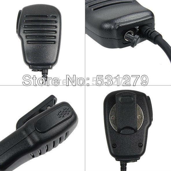 10x Black Anti-wrestling 2.5mm 1 PIN Handheld PTT Speaker Mic for Motorola Radio T6220/T6500/270 Cobra FRS 5512/6300 J0273A(China (Mainland))