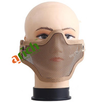 Half Face Net Mesh Style Protection Mask for Outdoor Activity War Game Military Use