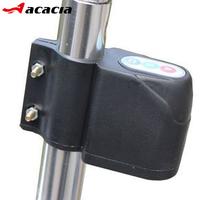 Free shipping, Acacia bicycle water-resistant password alarm mountain bike adjust sensitivity anti-theft alarm