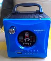 Portable card speaker usb flash drive speaker radio subwoofer insert card speaker computer audio rx-i6