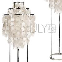 Free shipping July floor lamp shell floor lamp