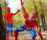 cosplay Halloween lycra spandex costume  spider woman&man kids children&adult