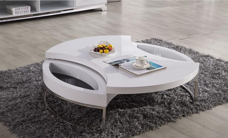 Tea Table Design : Coffee Table / Tea Table, Modern Design, MDF+Specular Paint Stainless ...