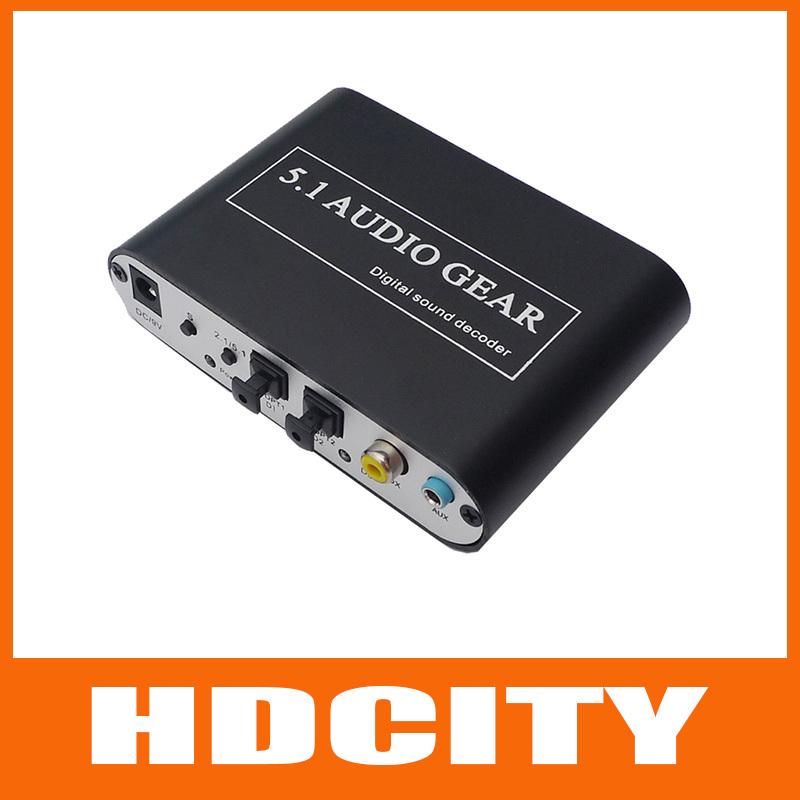 5.1 ac3 dts hd аудио передача звукового декодера lpcm стерео цифровой аудио конвертер 5.1 аналоговый выход 2.1 dvd pc hdcity