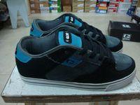 Globe zooyork fallen skateboard shoes globe male skateboard shoes black grey blue