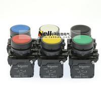 [ SA ]Schneider Schneider 22mm plastic flat head self-reset button XB5AA * 1C 1NO 6 colors--10PCS/LOT