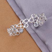 Lose Money! Wholesale 925 silver bangle bracelet, 925 silver fashion jewelry, Small irregular bracelet bangle  B202