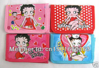Free shiping The Bettyboop Wallt Purse Wallets & Holders wholesale 12 pcs