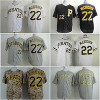 Cheap Pittsburgh Pirates Jersey #22 Andrew McCutchen baseball Jerseys cool base white gray black free shipping!