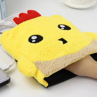 Creative Cute Cartoon Plush Hand Warmer mouse pad usb heating warm Challenge Po shipping