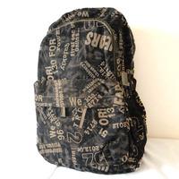 F66(khaki) Wholesales designer camouflage Backpack,Leisure bag,knapsack,black fabric with plaid,Size:35x45cm  Free shipping