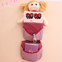 Creative cloth art toy doll multi-layer hang bags