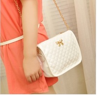 2013 plaid chain small bag fashion women's handbag messenger bag