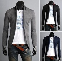2013 Autumn Men After The Leading Edge In Turn Will Bring Three Vertical Slits Leisure Suit