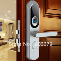 fingerprint scanner door lock