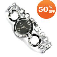 KIMIO Brand Watch Women Stainless Steel Painting Music Crystal Wrist Watch women ladies  K423s