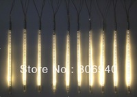 Warm White LED-SMD-Meteor rain light 80CM 12V 72LED Tube 3528 SMD Snowfall Meteor Rain Outdoor Light Warm White 10pcs/1set