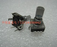 Encoder alps ec11 regulation-resistance pulse rotating 30 14 shank with switch