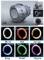35W NEW 2.5'' inch Bixenon Projector Lens Angel Eyes H1 H7 H4 H13 HB3 HB4 9004 9007 4300k 5000k 6000k 8000k Fast Shipping