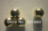 Cheapest price golden golf ball with free of freight