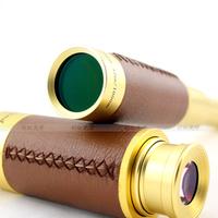 Panda nostalgic classic vintage brass pirate monocular telescope high definition gift