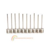 R1B1 2014 New 10PCS Inflating Pump Needle Valve Adaptor Sports Soccer Basketball Football