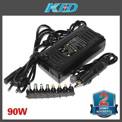 90W Universal AC Adapter Battery Charger Power Supply For Most laptops AUTO Use in Car&home free shipping(China (Mainland))