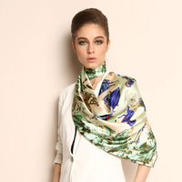 Pteroic gem silk large facecloth 2013 new arrival women's scarf silk scarf silk,Free shipping