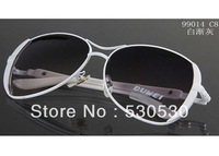 2013 New Grace Ladie Wmoen Sunglasses Metal Frame Fashion Sun Glasses  +UV400+Mixed Colors+20pcs/lot+Free shipping