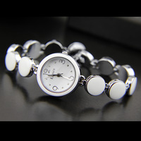 Qiziwan enmex fresh summer ceramic white women's watch