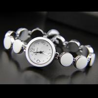 Qiziwan enmex fresh summer ceramic white women's watch
