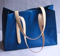 Isvara women's tote bag shopping bag first layer of cowhide handmade women's genuine leather handbag shoulder bag big bag