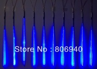 Blue LED-SMD-Meteor rain light 80CM 12V 72LED Tube 3528 SMD Snowfall Meteor Rain Outdoor Light Blue 10pcs/1set