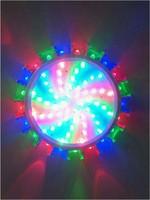 3W LED Wall Light Sconces Decor Fixture Lights Lamp bulb Wall lights changing RGB wall fitting