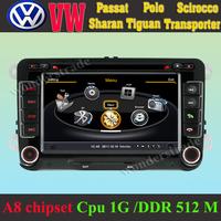 Car DVD Player GPS Navigation volkswagen Passat mk6 mk7 Polo MK5 Scirocco Tiguan + 3G wifi + Cpu 1GB DDR 512M + A8 chipset + DVR