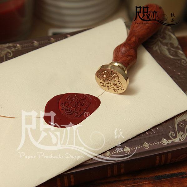 Coréia papelaria cera do vintage pintura envelope carimbo de cera cera(China (Mainland))