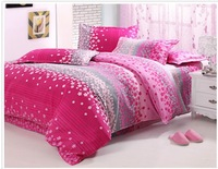 FEDEX Free Shipping 2013 new 100% cotton Twinkling Stars Soft printing bedding 4PCS Set