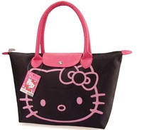 2013 Hotsale+Free Shipping,New Arrival Hello Kitty Bag /Shopping Bag/Hand BagBlack,Pnk,Red,Rose pink,1PCS