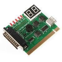 MINI USB Notebook 2-Digit PCI LPT PC Laptop Analyzer diagnostic Test card
