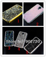 Free shipping 20PCS new arrival Crystal rhinestone phone protective case for Samsung Galaxy S4 i9500