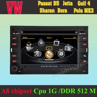 Car DVD Player GPS Navigation volkswagen Passat mk5 Jetta Bora Polo Mk3 MK4  + 3G wifi + Cpu 1GB DDR 512M + A8 chipset + DVR