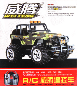 Electric remote control car large remote control car charge remote control off-road vehicles big toy car hummer remote control