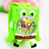 W100031#   New Arrival !  Hot sale animal cartoon slap watches,high quality jelly watch,mix colors, FreeShipping