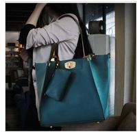 2013 free shipping autumn and winter picture package one shoulder & messenger bag formal women's handbag vintage tote bag