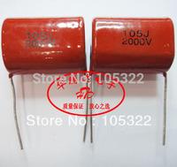 Free shipping New & original CBB capacitor 105j 2000v  2Kv