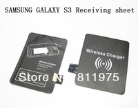ree Shipping 2013 New Product Qi Receiver Accept Charging Adapter Wireless Charger for Samsung Galaxy S3 i9300