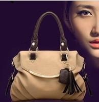 HOT!!!! Special Offer PU Leather bags women messenger bag/ EASS Paul Retro fringed fashion Shoulder Handbag
