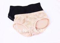 Sponge Buttock Pad Body Shaping Shorts Women Panties Low Waist Hold Buttock Shape Lady Panties